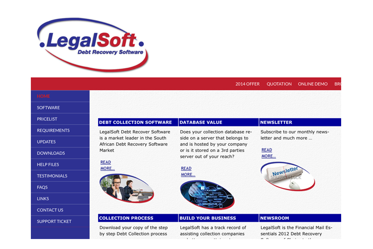 Legal Soft Website