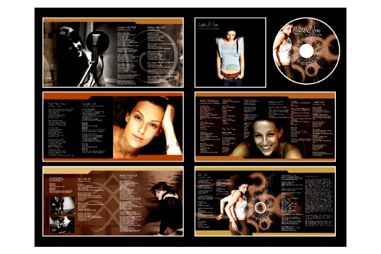 Graphic Design for Music CD